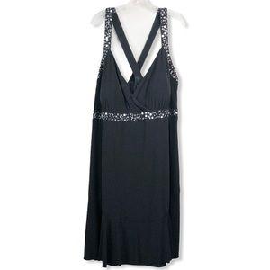 Lane Bryant Formal Sequin Bling Embellished Dress